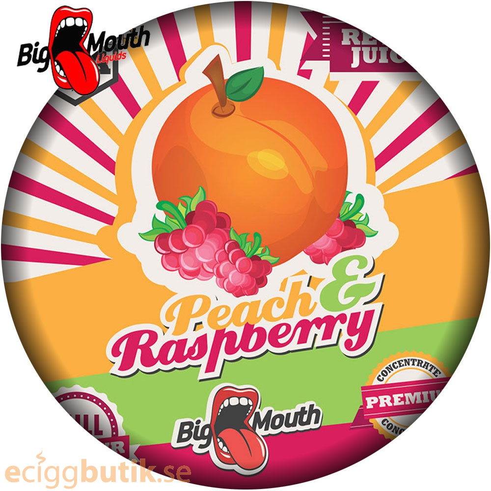 Big Mouth Peach and Raspberry Aroma