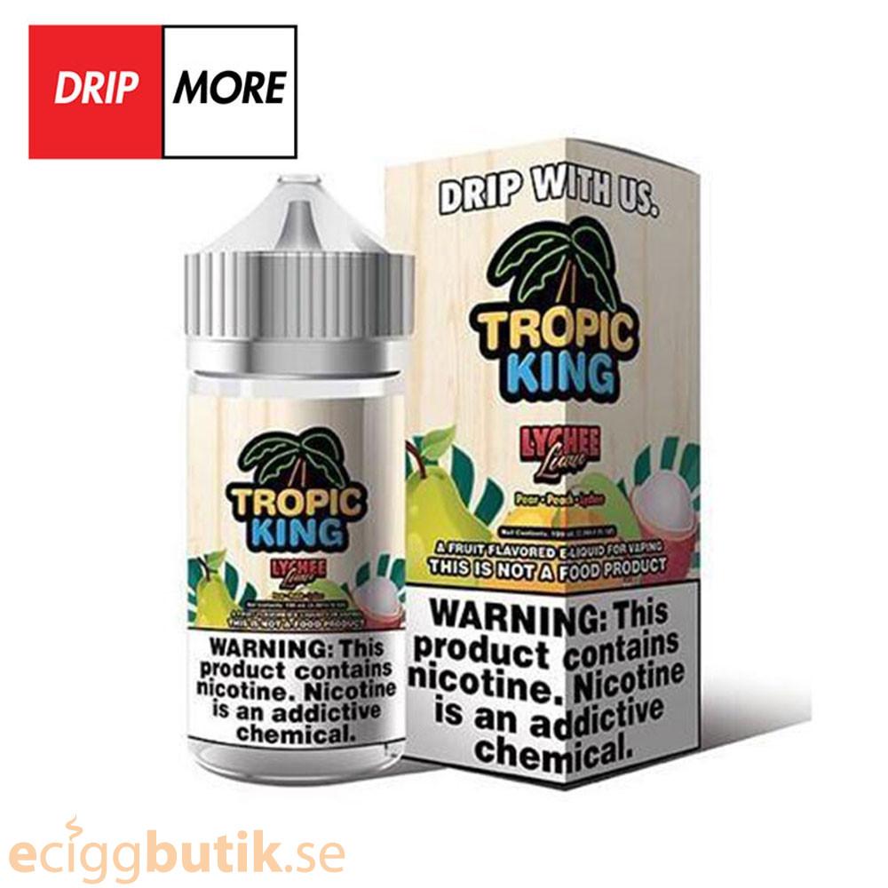 DripMore Tropic King Lychee Luau - 100ml