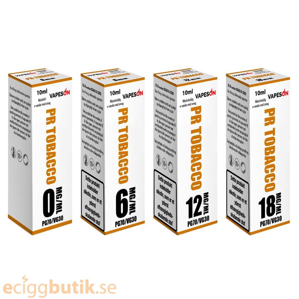 PR Tobacco E-juice