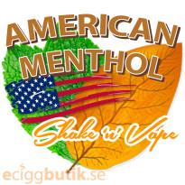 American Menthol Shake n Vape Kit